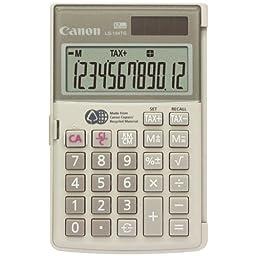 CANON 1075B004AA 12-Digit Handheld Calculator