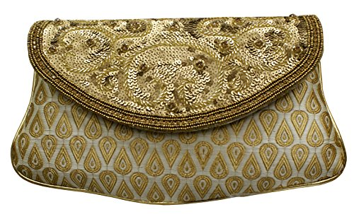 Hand Embroidery Casual Clutches Handbags Price In India Buy Hand