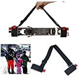 2PCS Winboss Adjustable Durable Ski shoulder Carrier Lash Easy Carry Handle Straps porter