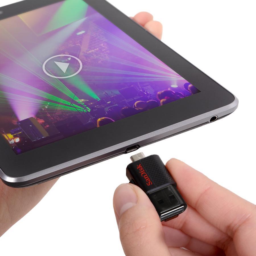 Amazon Com Sandisk Ultra 32gb Micro Usb 2 0 Otg Flash