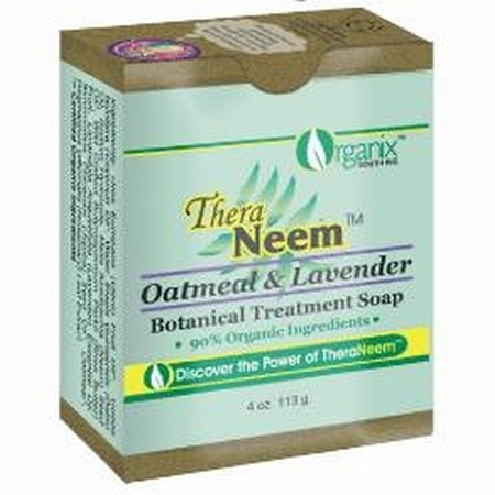 theraneem-organix-neem-therapy-cleansing-bar-oatmeal-lavender-4-oz-113-g