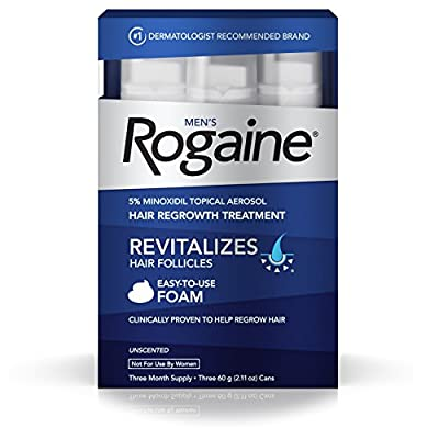 Men's Rogaine Foam One Month Supply