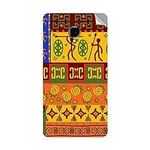Garmor Designer Mobile Skin Sticker For LG OPTIMUS L7 II DUAL - Mobile Sticker
