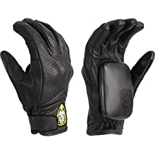 Sector 9 Lightning Slide Gloves Small Medium Black Skate Pads