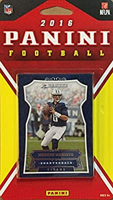 Tennessee Titans 2016 Panini Factory Sealed Team Set with Marcus Mariota, DeMarco Murray, Derrick Henry Rookie Card plus