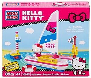 Mega Bloks Hello Kitty Sailboat