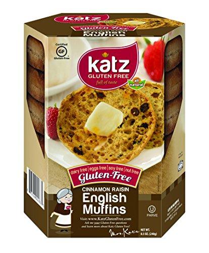 Katz Gluten Free Cinnamon Raisin English Muffins 8.5 Ounce (Pack of 1) (Chinese Bread Maker compare prices)
