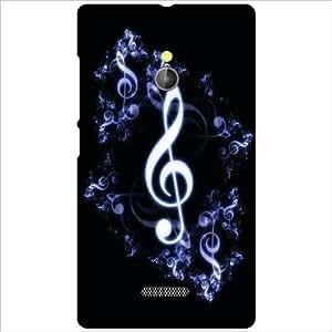 Nokia XL RM-1030/RM-1042 Back Cover - Music Sign Designer Cases