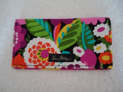 price tracking for vera bradley checkbook cover in va va bloom 10111127. Black Bedroom Furniture Sets. Home Design Ideas