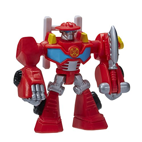 Playskool Heroes, Transformers Rescue Bots, Heatwave The Fire-Bot Figure, 3.5 Inches - 1