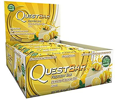 Quest Protein Bars Lemon Cream Pie 14 Bars
