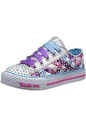 Skechers Kids 10455L Light-Up Sneaker (Little Kid/Big Kid)