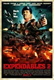 The Expendables 2 (2012) 27x40 Movie Poster- Style F