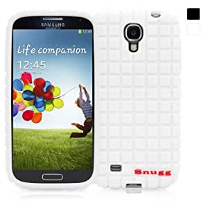 Snugg Galaxy S4 Silicone Skinny Fit Case Cover in White - Ultra Slim, Non Slip Material Protective and Soft to Touch for the Samsung Galaxy S4