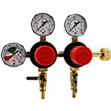 Taprite T752HP Two Product Dual Pressure Kegerator CO2 Regulator