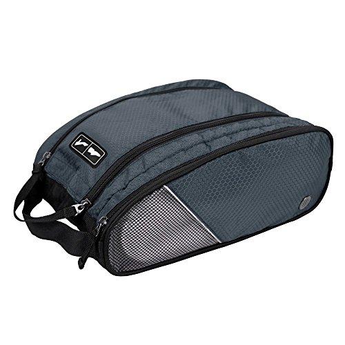 (バッグ・マート)Bags-mart シューズケース 靴袋 靴入れ ダブルジッパー式 旅行 出張 ジム用 プレゼント  ギフト