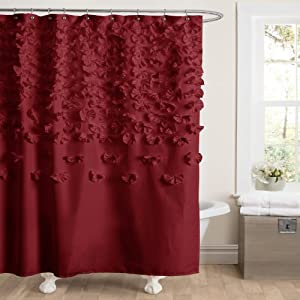 Amazon Lush Decor Lucia Shower Curtain 72 By 72 Inch