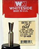 Whiteside Router Bits D7-625 Dovetail Bit with 5/8-Inch Large Diameter and 7/8-Inch Cutting Length