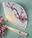 Delicate Cherry Blossom Design Silk F...