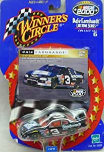 Official NASCAR 2000- Winner's Circle - Dale Earnhardt Lifetime Series - No. 3 - 1999 Brickyard 400 - GM Goodwrentch Service Plus Chevrolet Monte Carlo - 1:64 Die Cast Replica Car and Collector Card