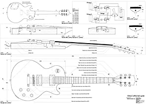 depols les paul electric guitar plans must see. Black Bedroom Furniture Sets. Home Design Ideas