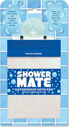 Shower Mate Waterproof Note Pad (Shower Notepad compare prices)