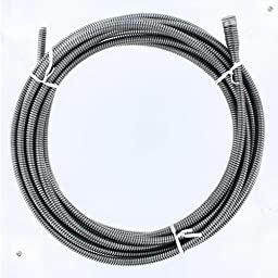 Cable, Drain Cleaning, 3/8 x 25 Ft