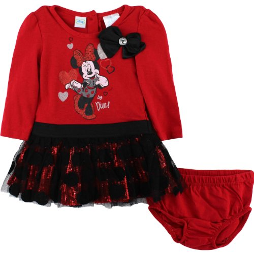 Toddler Minnie Mouse Dress front-535