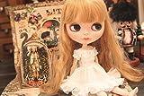 (ドーリア)Dollia ブライス 1/6ドール用 アウトフィット フリルドレス ワンピース 服 ネオブライス ドール 人形 (ホワイト)