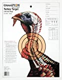 Champion Sight-In Life-size Turkey Paper Target (Pack of 12)