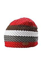Black Crevice Gorro (Rojo)