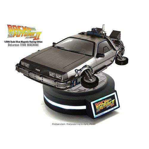Kids Logic 1/20 Magnetic Floating DeLorean Time Machine