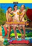 Three Nude Girls Poolside featuring Cadence Honey Brandy Katarina and Amber