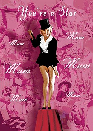 mum-youre-a-star-dia-del-madre-tarjeta-de-felicitacion-por-max-hernn