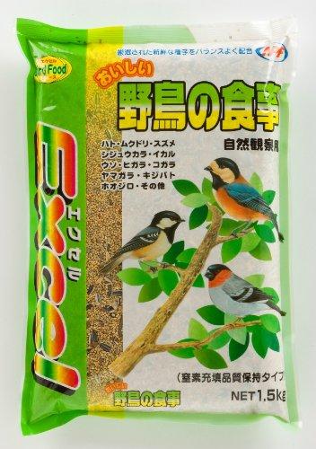 ナチュラルペットフーズ エクセルおいしい野鳥の食事NEW1.5kg