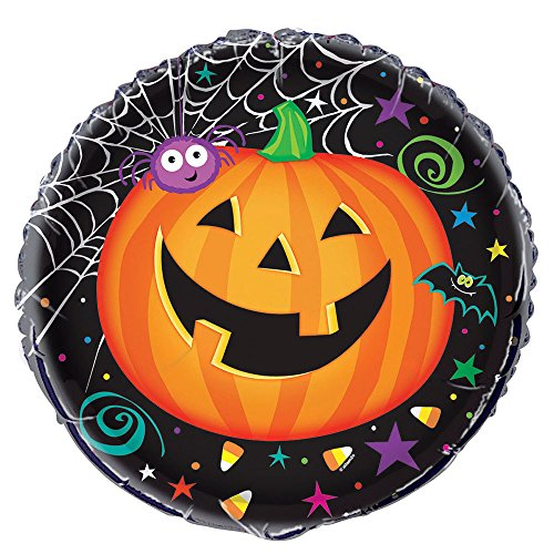 "18"" Foil Pumpkin Pals Halloween Balloon"