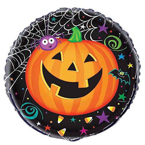 """18"""" Foil Pumpkin Pals Halloween Balloon"""
