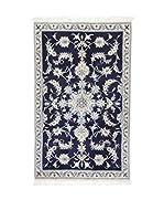 Eden Alfombra Nain K Azul/Beige 90 x 148 cm
