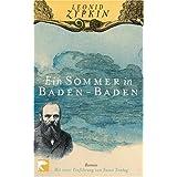 """Ein Sommer in Baden-Baden: Romanvon """"Leonid Zypkin"""""""