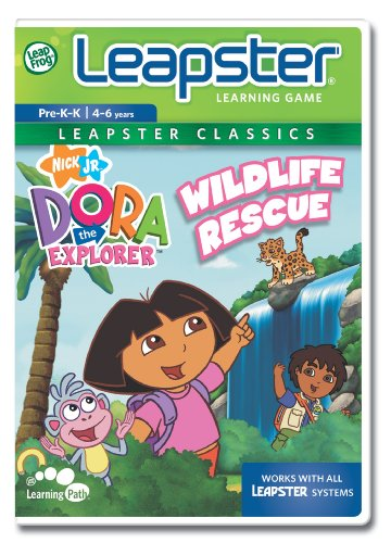 LeapFrog Leapster Educational Game Dora the Explorer