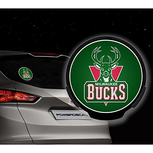 Milwaukee Bucks Nba Power Decal
