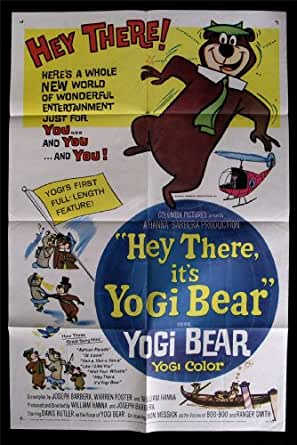 Yogi Bear Movie Poster Controversy YOGI BEAR * 1SH ORIG M...