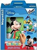 Diset 46517 - Puzzle magnético de Mickey con diferentes piezas de ropa