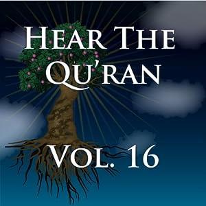 Hear The Quran Volume 16 Audiobook