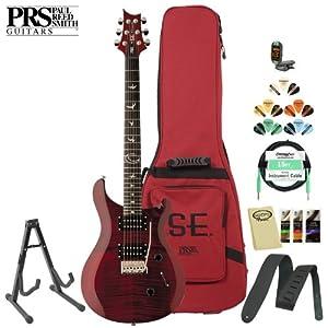PRS SE Orianthi (ORSR) Scarlet Red Electric Guitar w/ Accessories & PRS Gig Bag