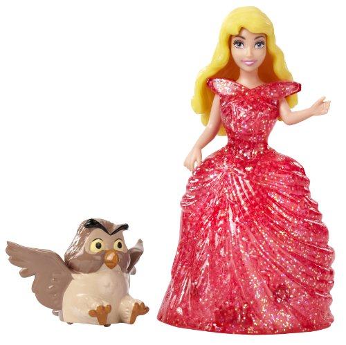 Disney Princess Glitter Glider Princess Aurora Doll - 1