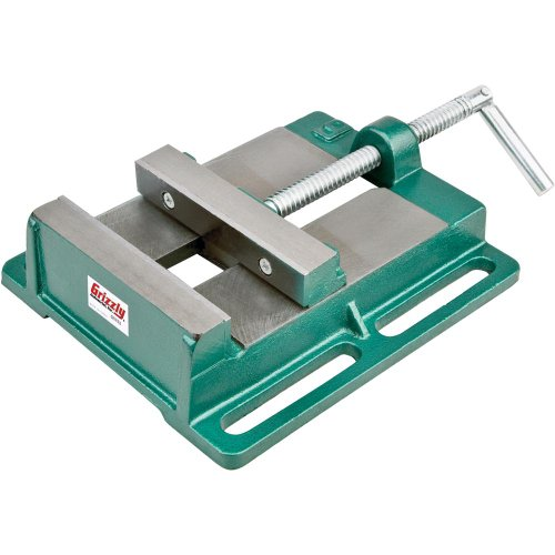 Grizzly G5753 Drill Press Vise, 6-Inch