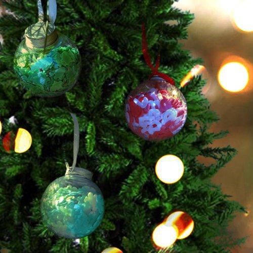 Holiday Bath Confetti Ornaments (set of 3)