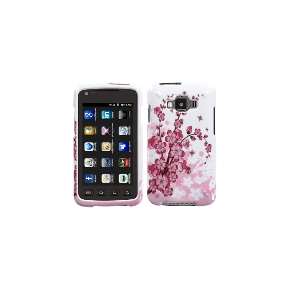MYBAT SAMI847HPCIM025NP Compact and Durable Protective Cover for Samsung Galaxy Appeal i827   1 Pack   Retail Packaging   Spring Flowers