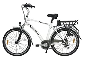Yukon Trails Men's Xpolrer Sport Hybrid Electric Bike (26-Inch) by Yukon Trail Bicycles